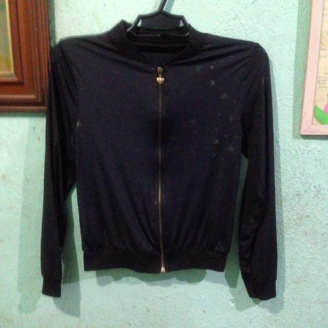 Black Stretchable Jacket (thin)