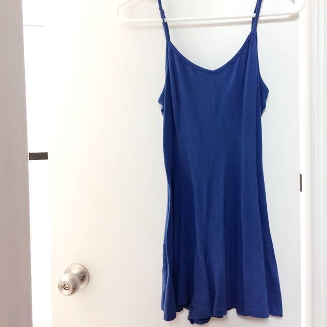 Blue 1 Piece Short/ Dress