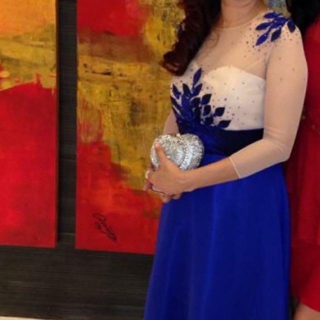 Blue Long Gown