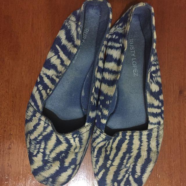Blue Rusty Lopez Shoes