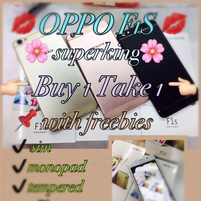 Buy 1 Take 1 OPPO F1s