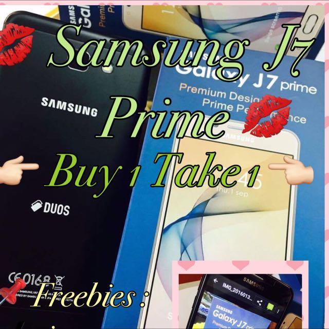 Buy 1 Take 1 Samsung J7 Prime