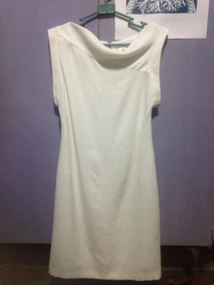 Classic Style White Dress