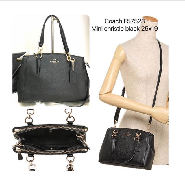 Coach Mini Christie Black