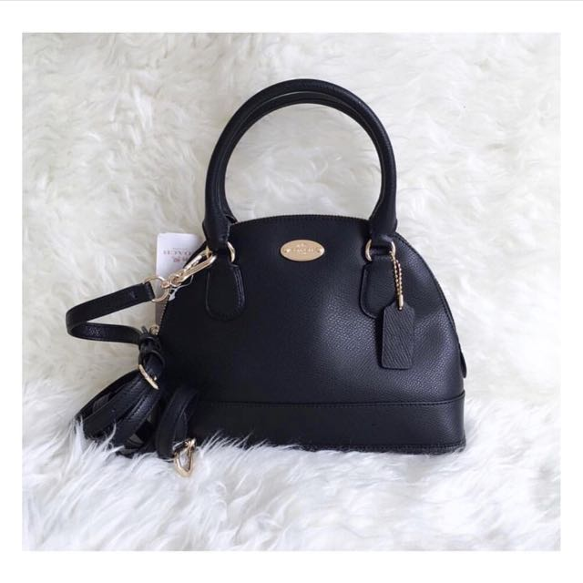 Coach Mini Dome Black
