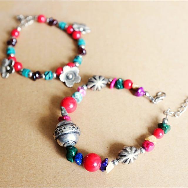 Colourful Beads Bracelet