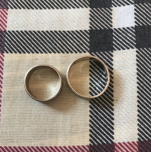 COUPLE SILVER RINGS (repriced)