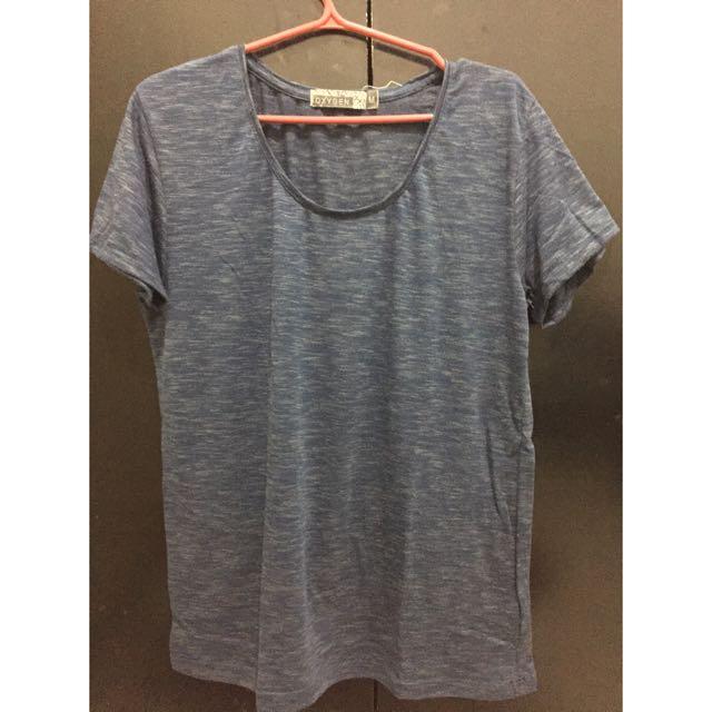 Dark Blue Oxygen Tshirt