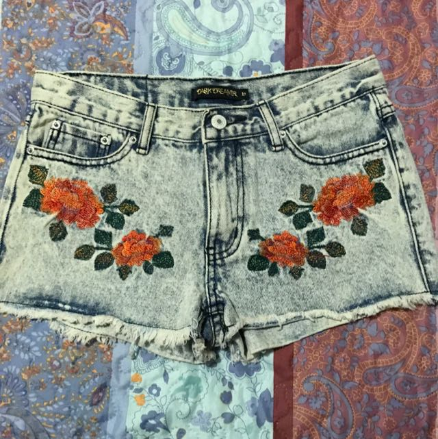 Dark Dreamer Denim Shorts- Size 10