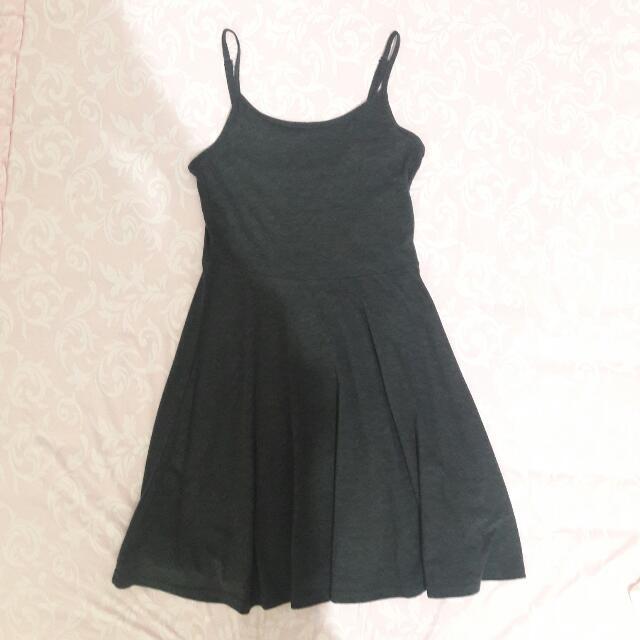Dark Grey Loose Dress