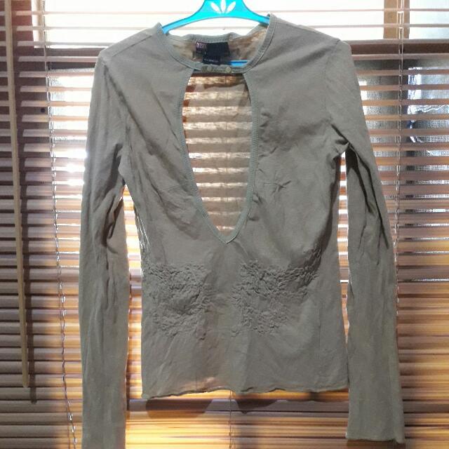 Diesel Brown Longsleeve Shirt