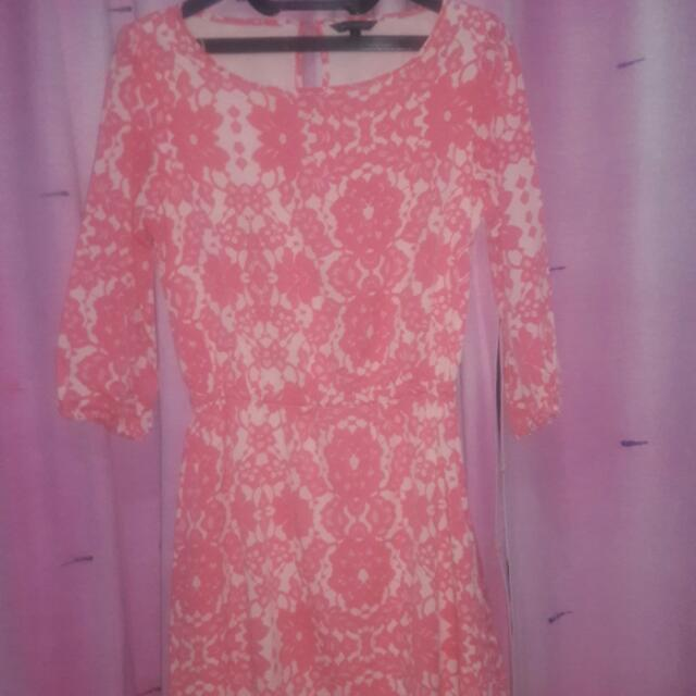 Dress Flower Pink The Executive