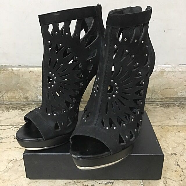 Edgy Black Shoes