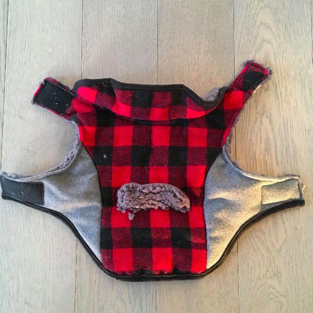 Fleece Fur Lined Dog Vest