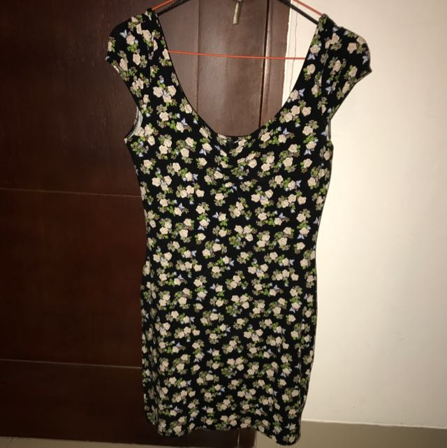 Floral Mini Dress (H&M)