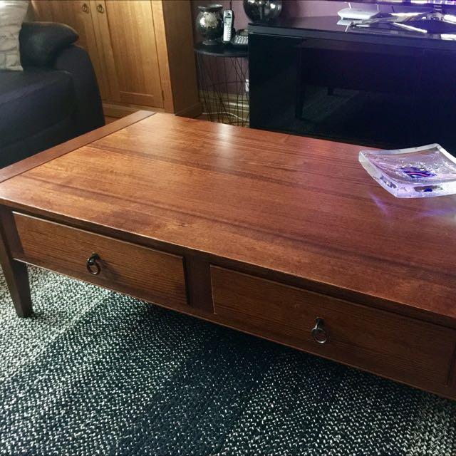 Genuine Tasmanian Hardwood Coffee Table