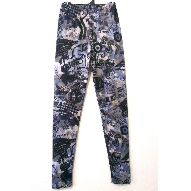 Graffiti Legging, size 8-10