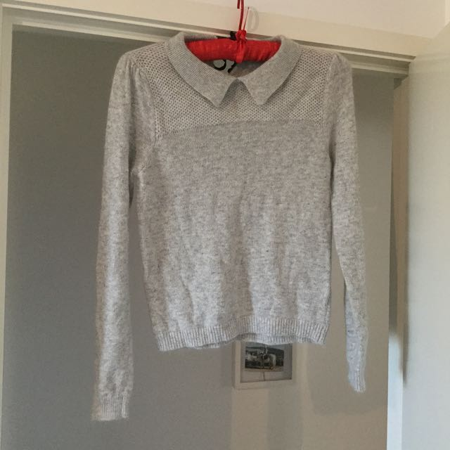 Grey Sweater - Size Small