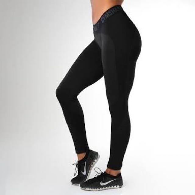 Gymshark BLACK Flex Leggings Worn Once!