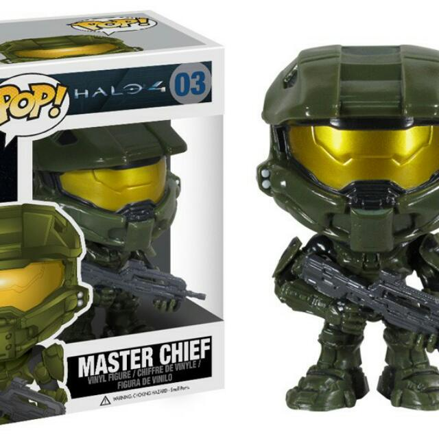 Halo 4 MasterChief Funk Pop