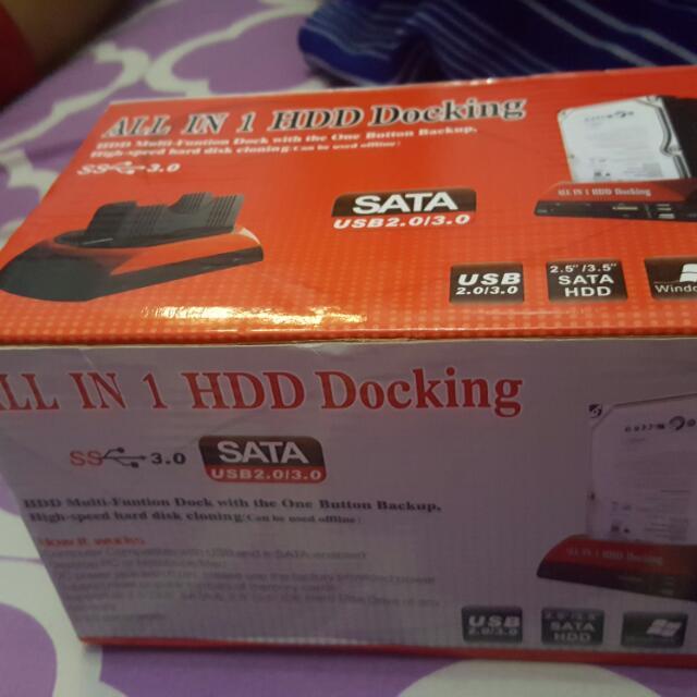 hard disk docking