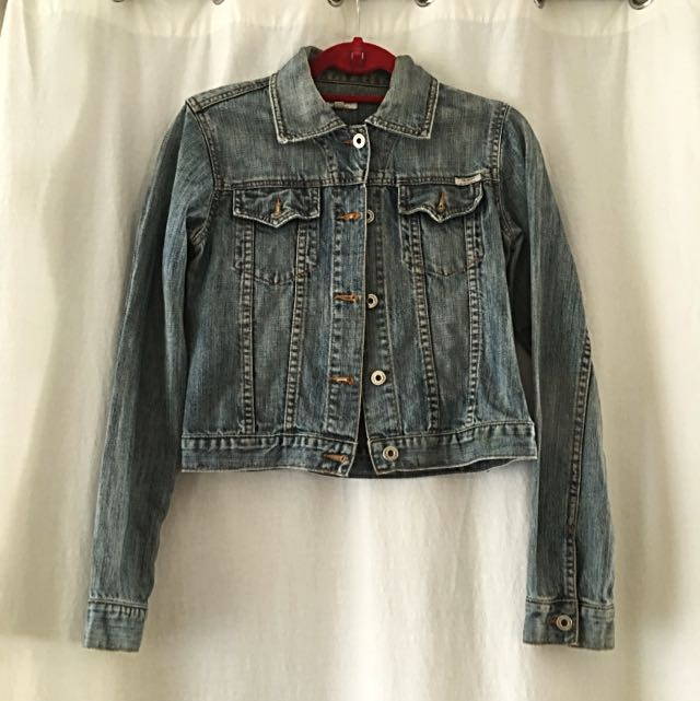Guess Vintage Look Denim Jacket