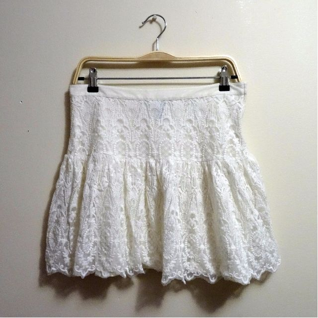 H&M lacy skirt (10)