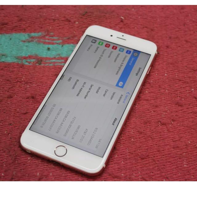 iPhone6s Plus 64g 玫瑰金 Rose Gold