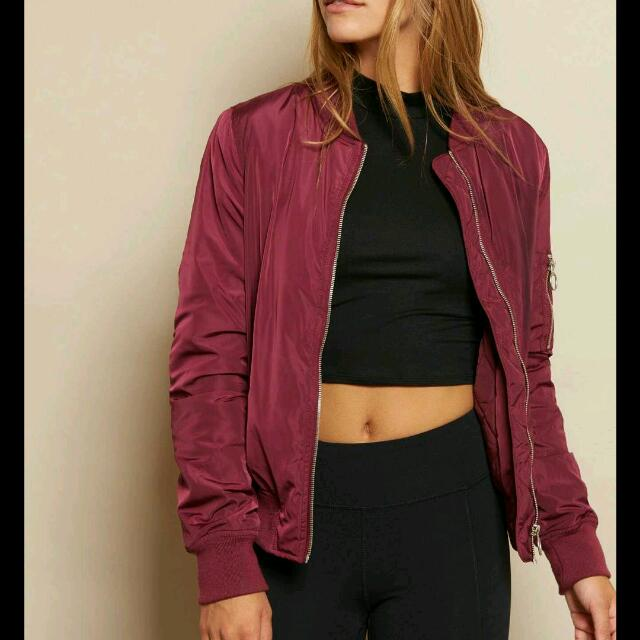 ISO Thin Bomber Jacket Similar To One In Photo