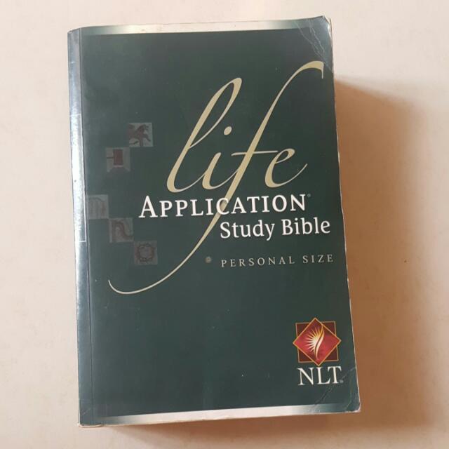 Life Application Study Bible (New Living Translation)