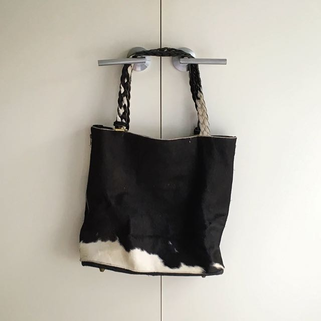 Leather Cow Hide Bag