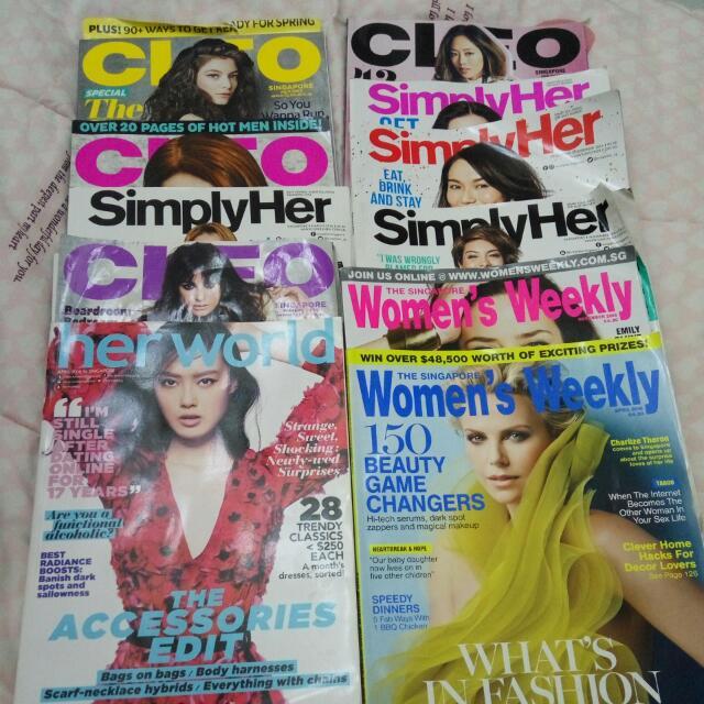 majalah edisi singapore
