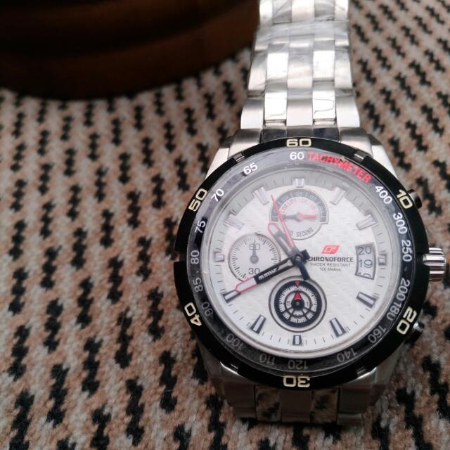 Man Watch 'Chronoforce'