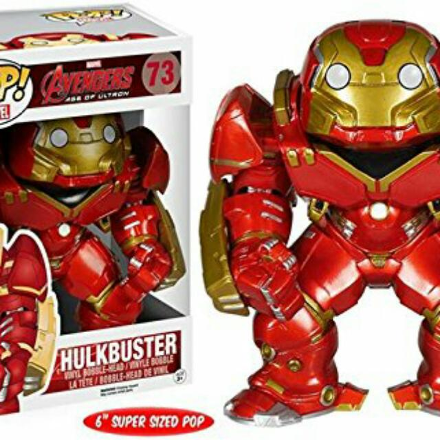 Marvel Hulkbuster Funko Pop