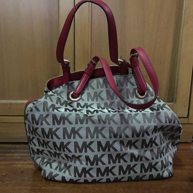 Michael Kors Monogram Shoulder Bag