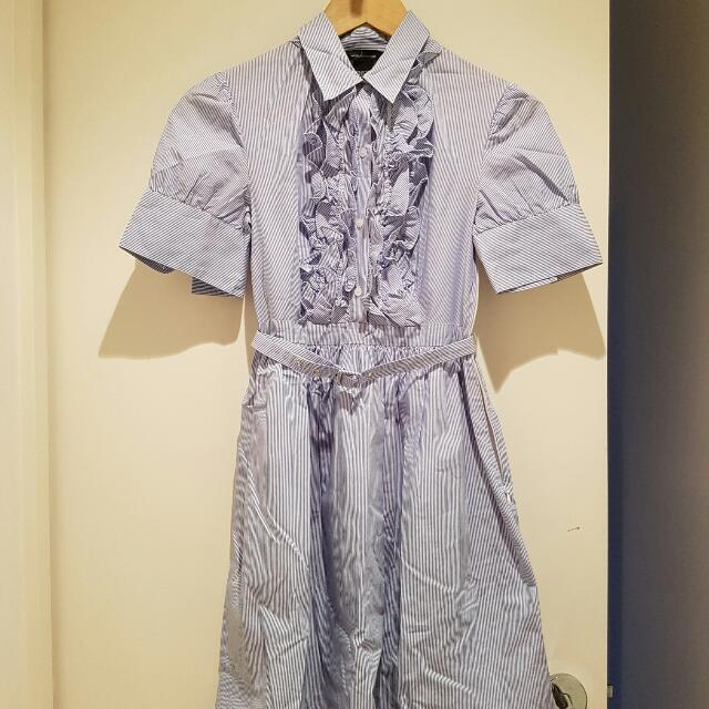 50%OFF - Moda INTERNATIONAL From JAPAN Fully Lined Cotton Dress Size 0
