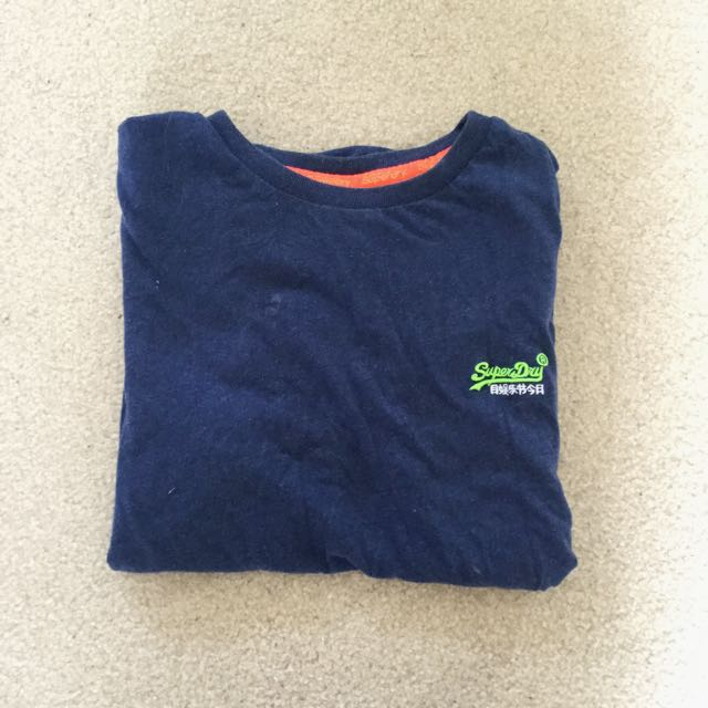 Navy Superdry T-Shirt