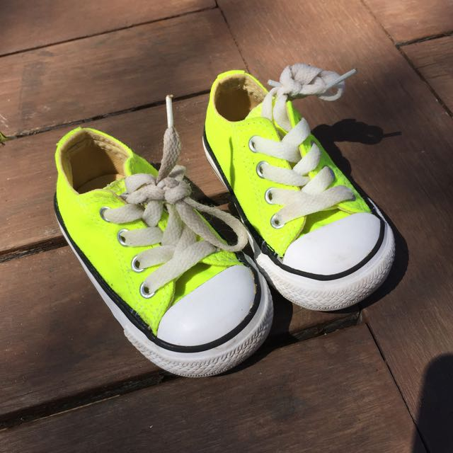Neon Yellow Cons.
