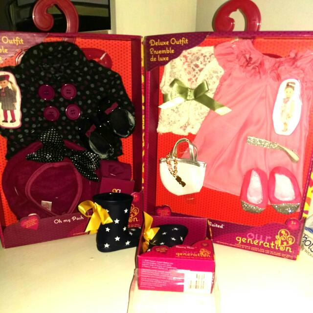 NEW Our Generation Doll Accessories