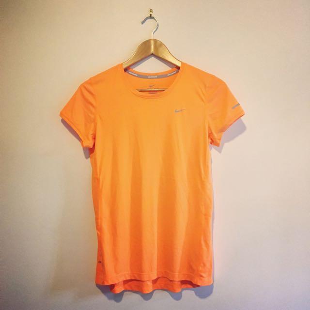 Nike Fluoro Orange Top