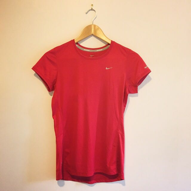 Nike Red Sports Top