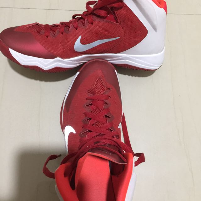... Nike Zoom Hyperquickness TB Women Basketball Shoes Red Size 9.5us ...