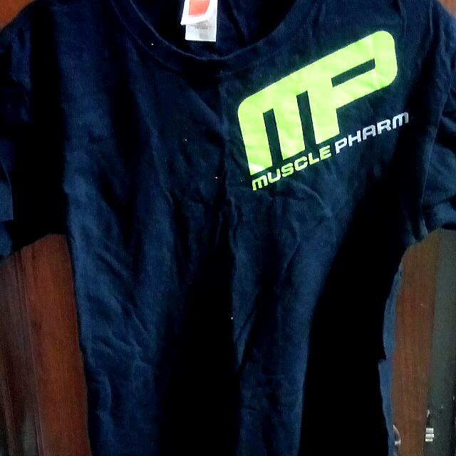 7c2cde3ac Nutrifirst MusclePharm T-Shirt, Sports, Sports Apparel on Carousell