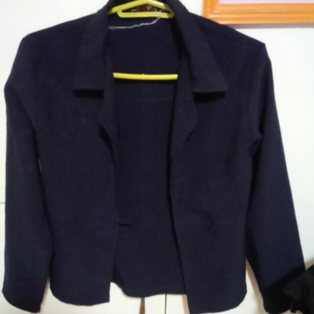 Office Blazer (navy Blue)