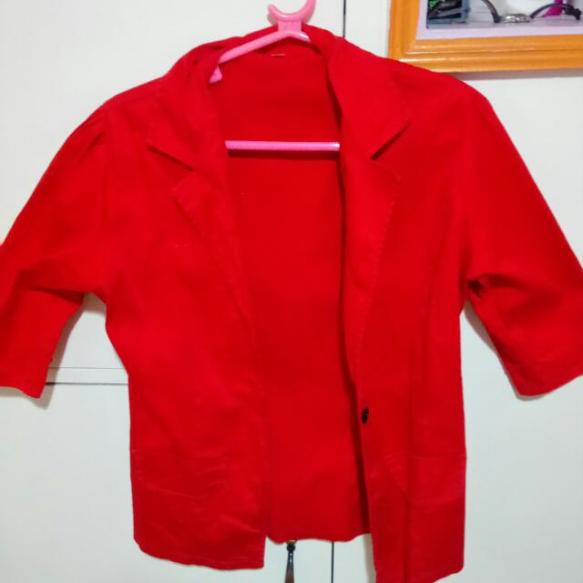 Office Blazer(red)REPRICED