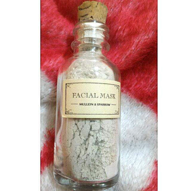 Original Facial Mask Mullein & Sparrow