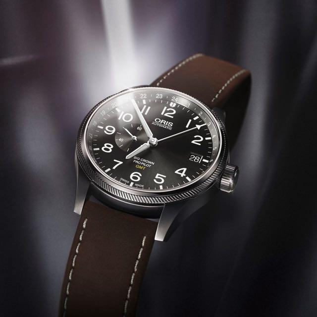 ORIS-豪利時大錶冠GMT雙時區飛行機械錶