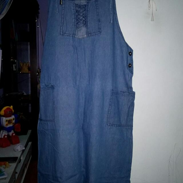 Overall soft jeans