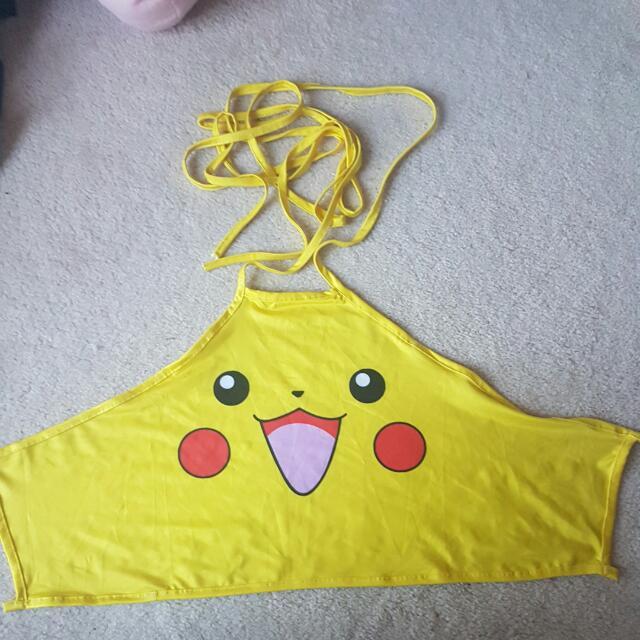 Pikachu Crop Top