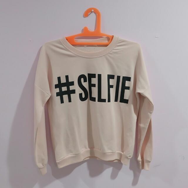 Pink Sweater #SELFIE